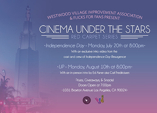 Westwood Cinema Under the Stars – Red Carpet Edition