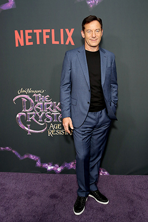 Jason Isaacs at the NY Screening of The Dark Crystal Age of Resistance