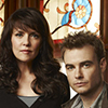 Amanda Tapping and Robin Dunne