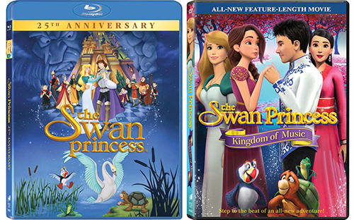 The Swan Princess and The Swan Princess: Kingdom of Music