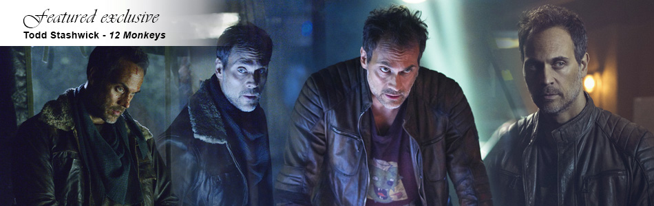 Exclusive: Tood Stashwick Talks Season Three of 12 Monkeys & Doubling Up on Roles