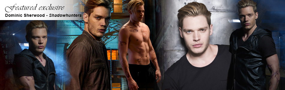 Exclusive: Shadowhunter's Dominic Sherwood Talks Kisses and Chemistry