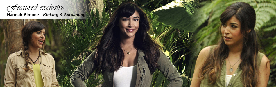 Exclusive Hannah Simone Hosts FOX's Kicking & Screaming, Premiering Tonight