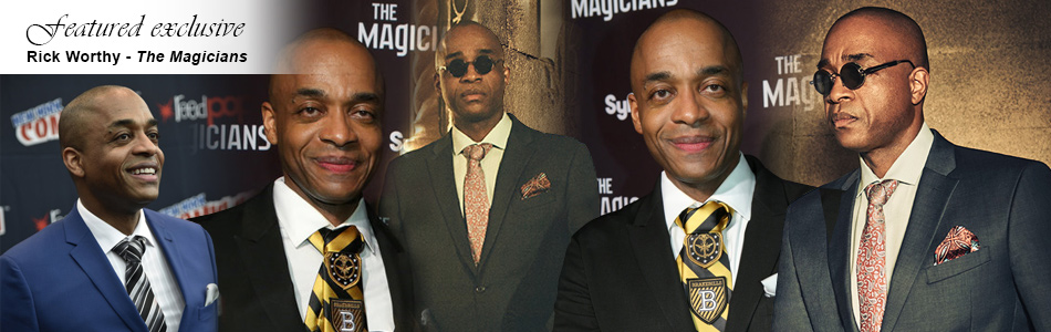 Exclusive: Rick Worthy on Bigby, Time Loops, & More for The Magicians
