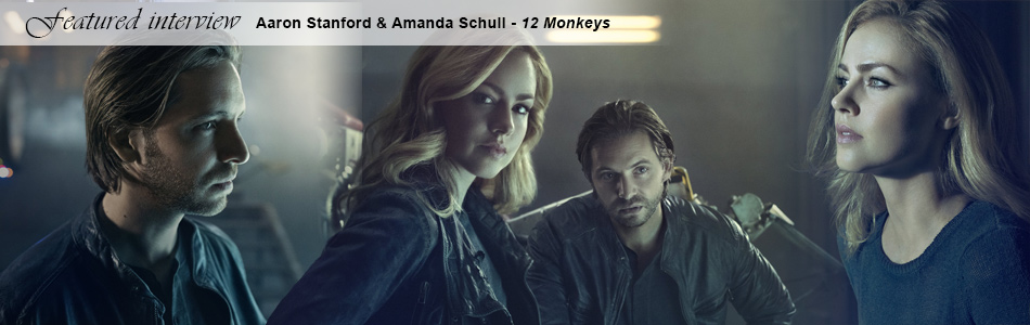 Aaron Stanford & Amanda Schull on Season 3 of 12 Monkeys