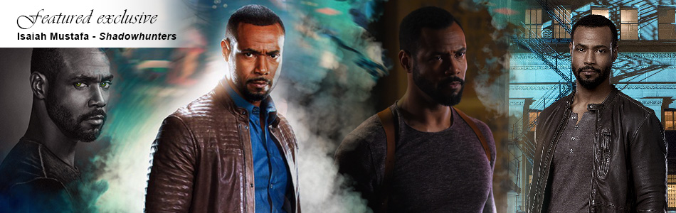 Exclusive: Isaiah Mustafa Wolfs Out on Shadowhunters