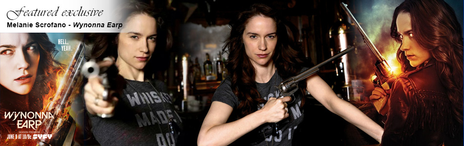 Exclusive: Melanie Scrofano Returns for Season 2 of Wynonna Earp Tonight on Syfy