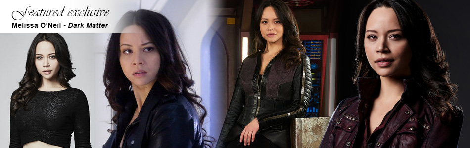 Exclusive: Melissa O'Neil Returns to Dark Matter To Kick Some More Ass