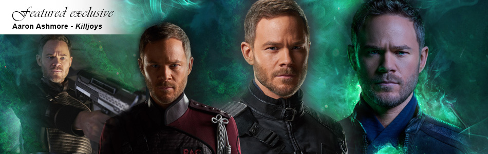 Exclusive:  Aaron Ashmore on Playing a Different Side of Johnny in Killjoys
