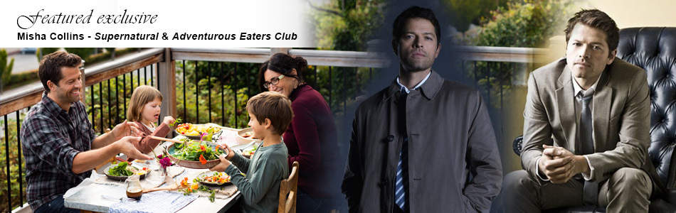 Exclusive: Supernatural's Misha Collins Talks Castiel and His New Cookbook, Adventurous Eaters Club