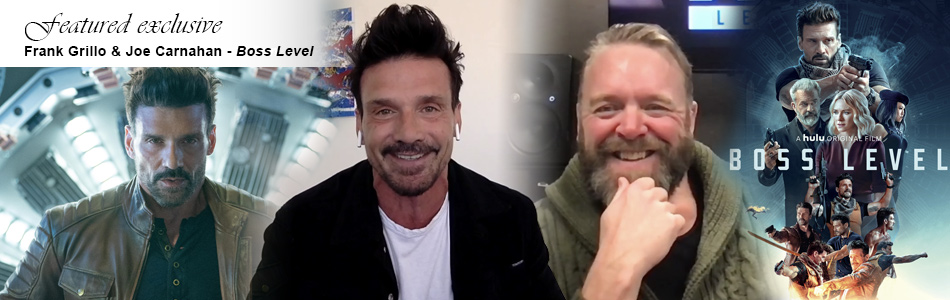 Exclusive Video Interview: Boss Level - Frank Grillo & Joe Carnahan